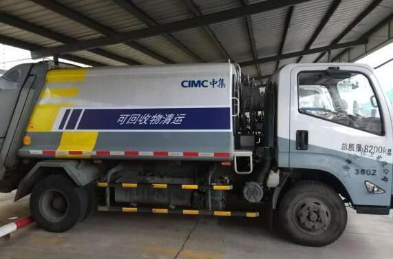 新能源垃圾运输车产品介绍